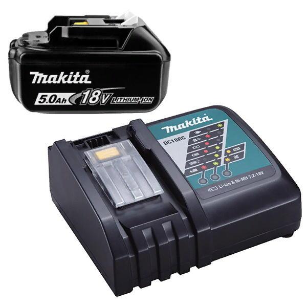 Аккумулятор BL1850B + зарядное устройство DC18RC в коробке Makita (191A27-2)